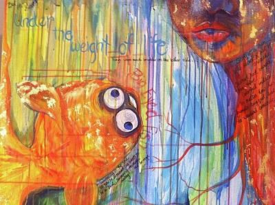 Big Eyed Fish Original by Made by Marley