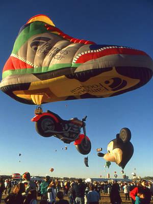 Big Foot - Hot Air Balloon Photo Print by Art America Online Gallery