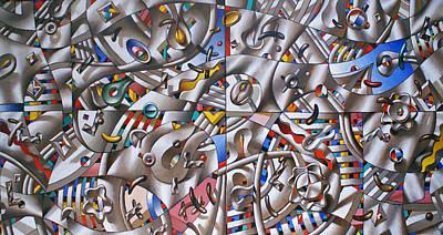 Abstract Painting - Big Game by Sergey Dergun