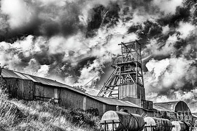 Photograph - Big Pit Mono by Steve Purnell