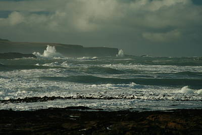 Photograph - Big Sea. Slope Point by Terry Perham
