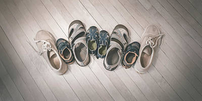 Sandals Photograph - Big Shoes To Fill by Scott Norris