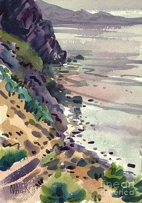 Big Sur Painting - Big Sur California by Donald Maier