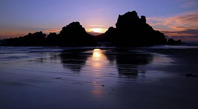 Big Sur Sunset Print by Pierre Leclerc Photography