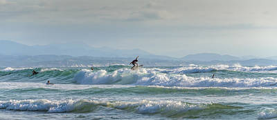 Photograph - Big Surf Invitational I by Thierry Bouriat