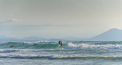 Photograph - Big Surf Invitational II by Thierry Bouriat