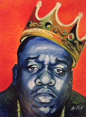 Painting - Biggie by Armando Renteria