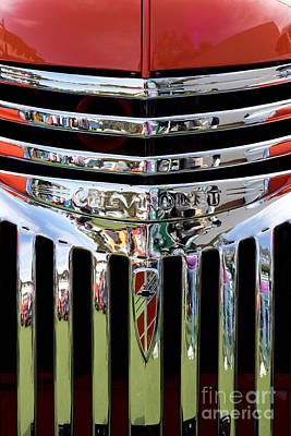 Chevrolet Grille 04 Print by Rick Piper Photography
