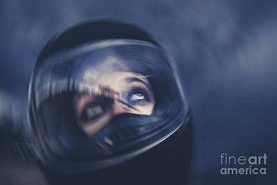 Bike Crash Print by Jorgo Photography - Wall Art Gallery
