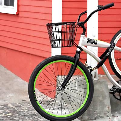 Marina Del Rey Photograph - Biking Marina Del Rey by Art Block Collections