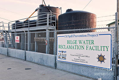 Bilge Water Reclamation Facility Print by Inga Spence