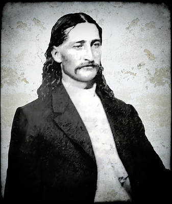 Bill Hickok  1865 Print by Daniel Hagerman