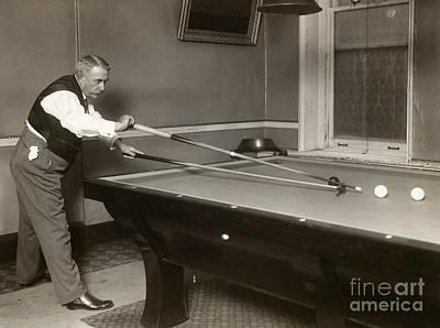 Billiard Player, C1907 Print by Granger