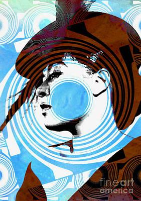 Billie Holiday Blues Singer - Pop Art Print by Ian Gledhill