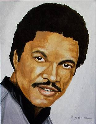 Dee Painting - Billy Dee Williams by Al  Molina