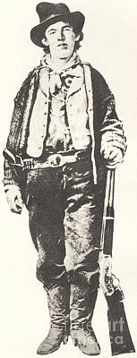 Billy The Kid Print by American School