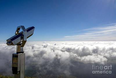 Photograph - Binoculars In The Clouds. by Bernard Jaubert