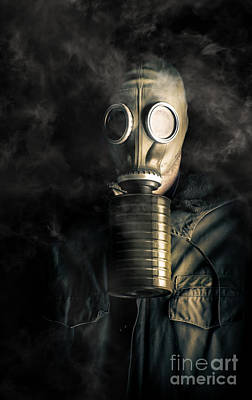 Biohazard Death And Destruction Print by Jorgo Photography - Wall Art Gallery
