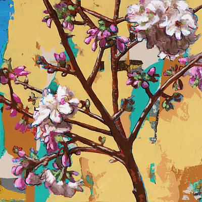 Cherry Blossoms Painting - Biosphere #10 by David Palmer