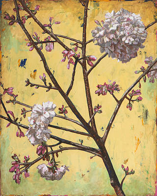 Cherry Blossoms Painting - Biosphere #3 by David Palmer