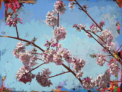 Cherry Blossoms Painting - Biosphere #8 by David Palmer