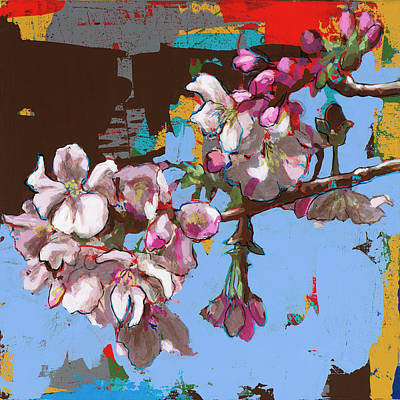 Cherry Blossoms Painting - Biosphere #9 by David Palmer