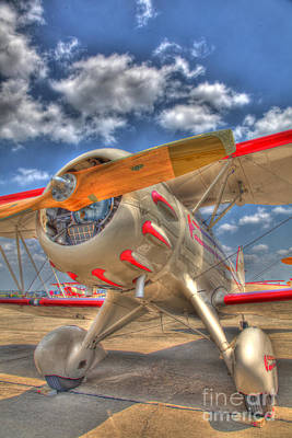 Biplane Original by David  Rusch