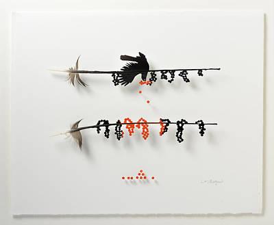 Bird Berry Print by Chris Maynard