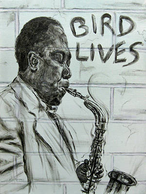 Bird Lives Original by Michael Morgan