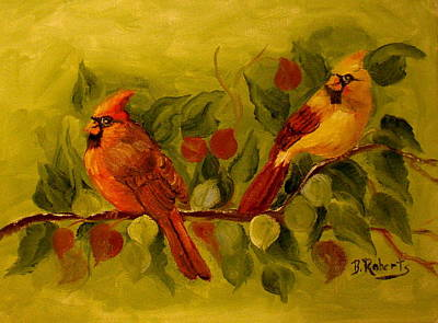 Birds Of A Feather Original by Bobbie Roberts