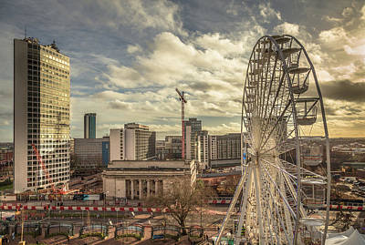 Midland Photograph - Birmingham Christmas Craft Fair by Chris Fletcher