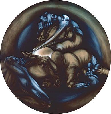 Birth Of A Centaur Original by Gaye Elise Beda