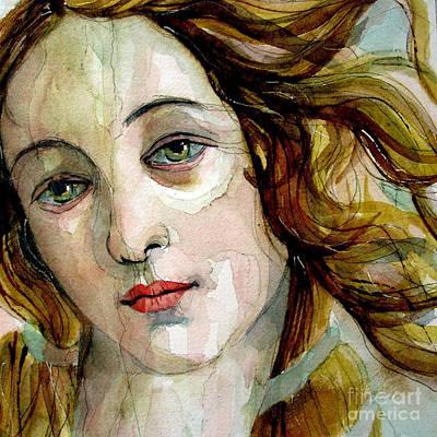 Venus Painting - Birth Of Venus by Paul Lovering