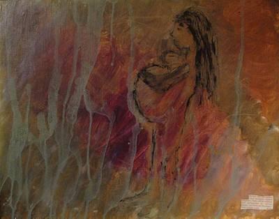 Birth Pains Print by Lisa  Graham