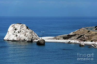 Greek School Of Art Photograph - Birth Place Of Aphrodite by John Rizzuto