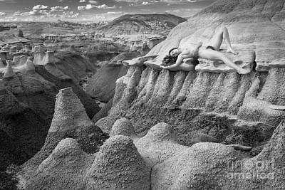 Dried Photograph - Bisti Beauty by Inge Johnsson
