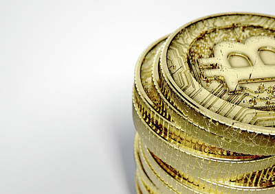 Bitcoin Stack Print by Allan Swart