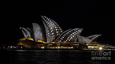 Photograph - Black And White Spotty Sails by Bryan Freeman