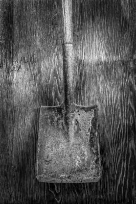 Construction Photograph - Square Point Shovel 3 by YoPedro