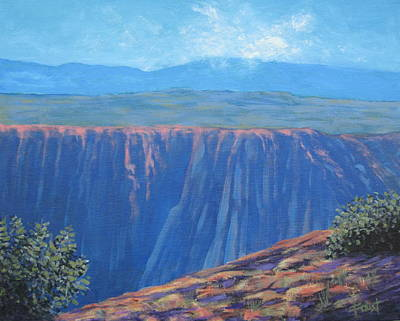 Black Canyon Of The Gunnison Print by Gene Foust