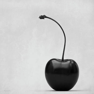 Fruit Photograph - Black Cherry by Wim Lanclus