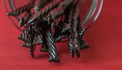 Licorice Photograph - Black Licorice by Maggie Terlecki