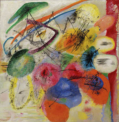 Curves Painting - Black Lines by Wassily Kandinsky
