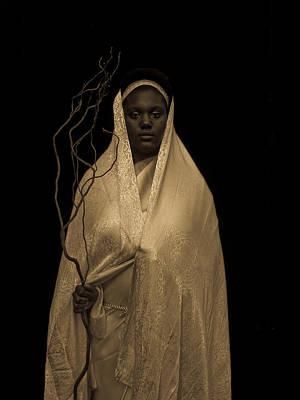 Black Madonna Original by Fern Logan