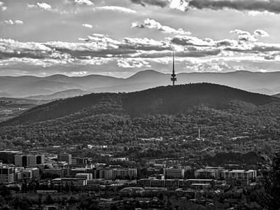 Black Mountain - Canberra - Australia Print by Steven Ralser