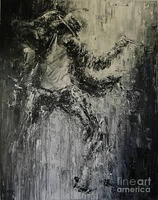 Black Or White Original by Dan Campbell