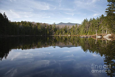 Black Pond - Lincoln Woods New Hampshire Usa Print by Erin Paul Donovan