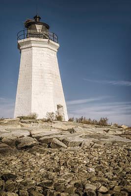 Ct Photograph - Black Rock Harbor Lighthouse II by Joan Carroll