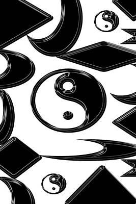 Yin Yang  Abstract Print by Aimee L Maher Photography and Art Visit ALMGallerydotcom