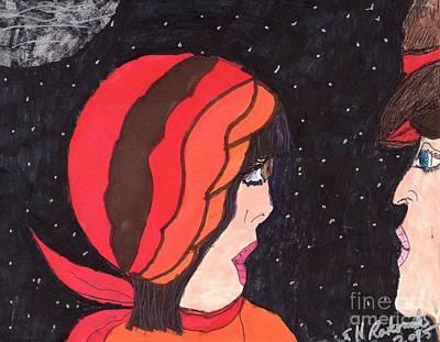 Black Sky Original by Elinor Rakowski